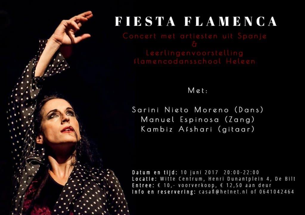 flyer concert De Bilt