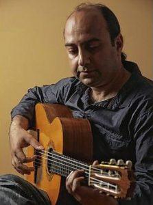 Flamencogitarist Kambiz Afshari